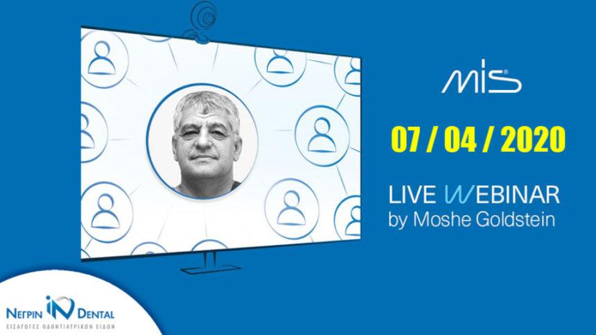 Live Webinar με τον Prof. Goldstein | MIS Academy | NΕΓΡΙΝ ΙΝ Dental