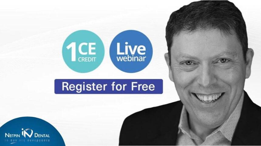 Live Webinar με τον Prof. Ariel J. Raigrodski | MIS Academy | ΝΕΓΡΙΝ ΙΝ Dental