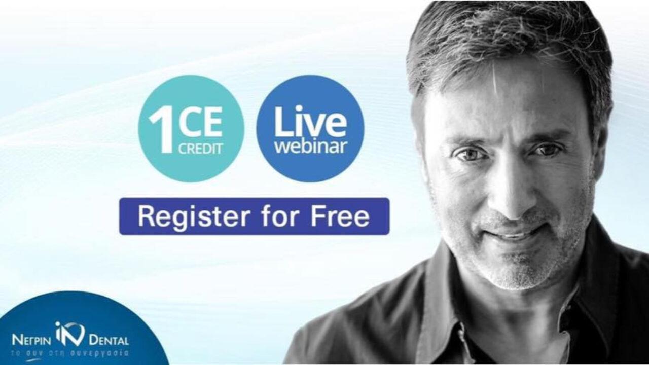Live Webinar με τον Dr. Σταύρο Πελεκάνο | MIS Academy | NΕΓΡΙΝ ΙΝ Dental