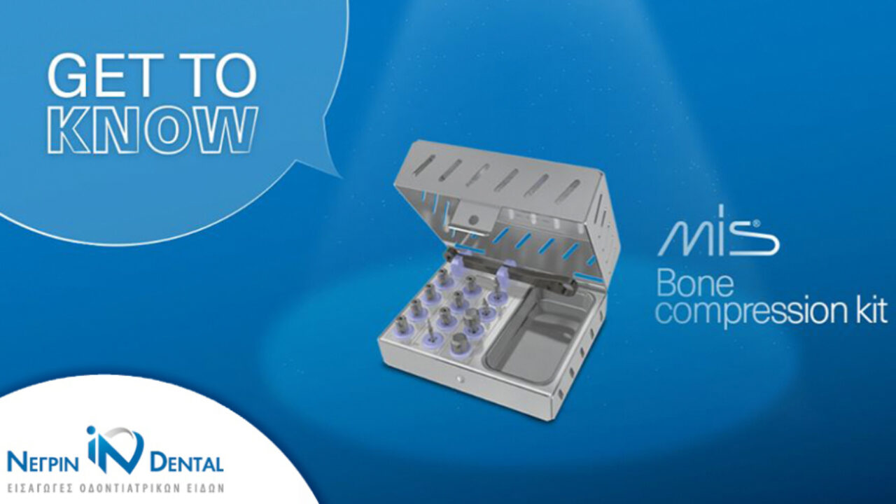 BONE COMPRESSION ΜΙS - κιτ εργαλείων 2 σε 1 για Ανύψωση Ιγμορείου και Συμπύκνωση Οστού! | ΝΕΓΡΙΝ ΙΝ Dental
