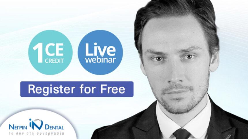 LIVE FREE WEBINAR με τον Dr. Giordani | MIS Academy & ΝΕΓΡΙΝ ΙΝ Dental