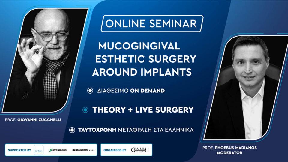 Mucogingival esthetic surgery around implants