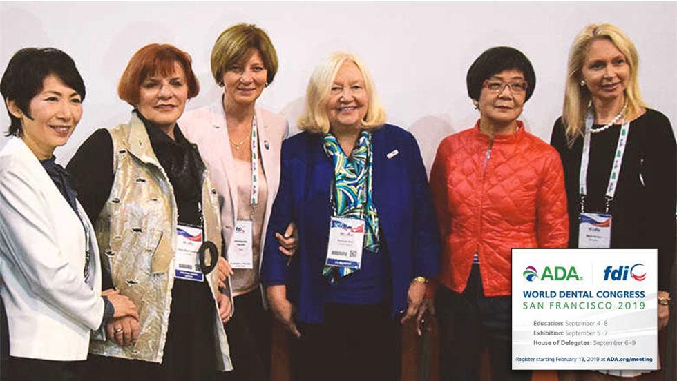Άρωμα γυναίκας στο παγκόσμιο οδοντιατρικό συνέδριο ΑDA FDI 2019