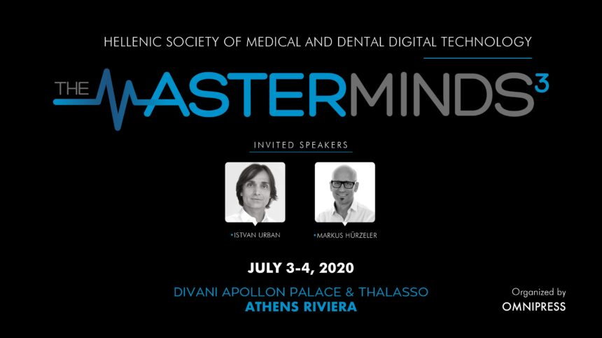 Eπιτέλους θα ξανασυναντηθούμε! Τhe Masterminds: 3-4 Ιουλίου, Divani Apollon Palace & Thalasso