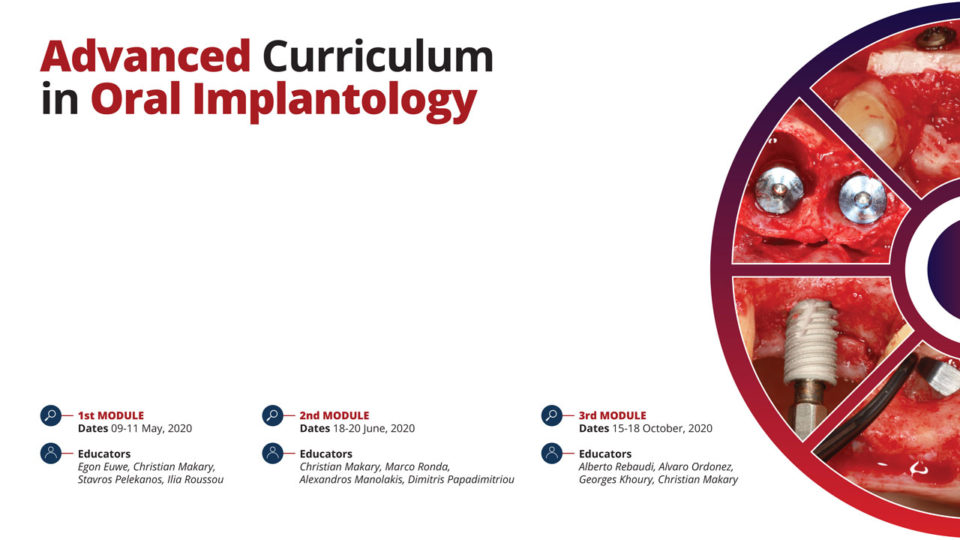 Advanced Curriculum in Oral Implantology